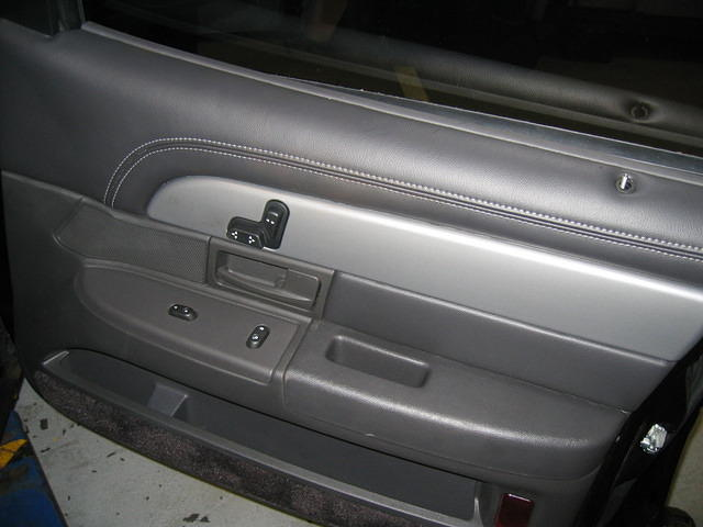 Custom Cover and Carpet on Door from Marietta Auto Trim